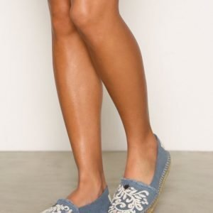 Odd Molly Oddspandrillos Embroided Espadrillot Navy