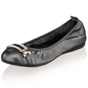 Otto Kern Ballerinat Musta / Hopeanvärinen