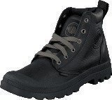 Palladium Pampa Hi Cuff LEATHER Men Black