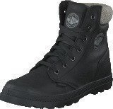 Palladium Pampa Hi Knit Hi LP Ladies Black