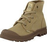 Palladium Pampa Hi Ladies Dark Khaki