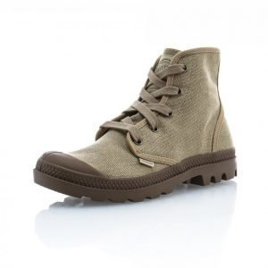 Palladium Pampa Hi Ladies Korkeavartiset Tennarit Beige / Ruskea