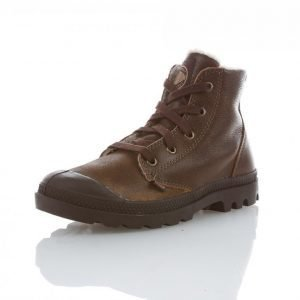 Palladium Pampa Hi Pilot Ladies Korkeavartiset Tennarit Ruskea