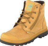 Palladium Pampa Hi WATERPROOF Kids Amber Gold
