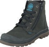 Palladium Pampa Hi WATERPROOF Kids Black