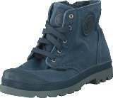 Palladium Pampa Hi Zipper Kids 53196-404 Dark Slate