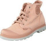 Palladium Pampa Hi Zipper Kids 53196-671 Salmon Pink