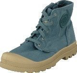 Palladium Pampa Hi Zipper Kids Nordic Blue