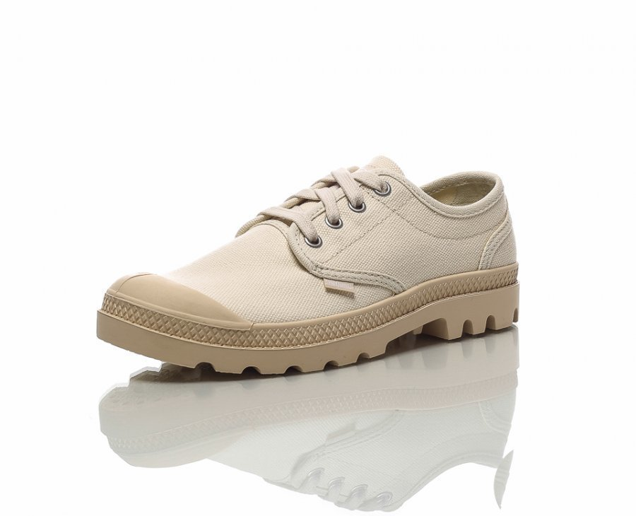 Palladium Pampa Oxford Ladies Kangastennarit Beige