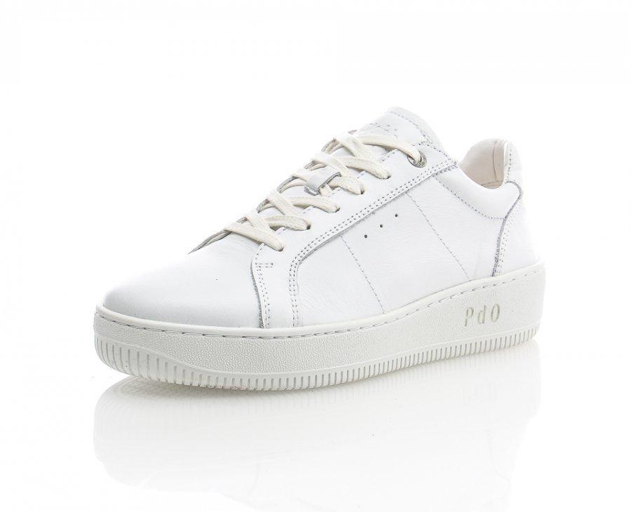 Pantofola D'oro Babice Low Nahkatennarit Valkoinen