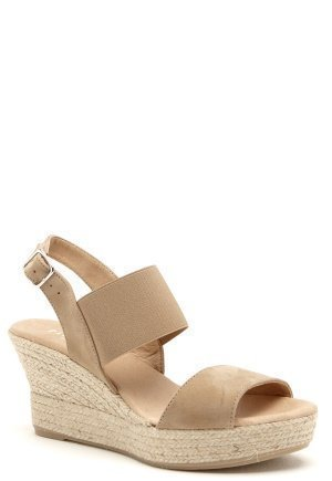 Pavement Soffi Leather Taupe Suede