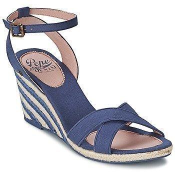 Pepe jeans SARK CANVAS WEDGE sandaalit