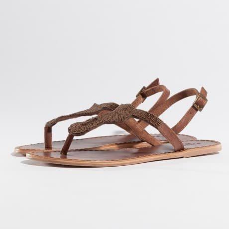 Pieces Sandaalit Ruskea