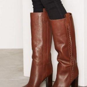 Polo Ralph Lauren Moanna Boots Saappaat Tummanruskea