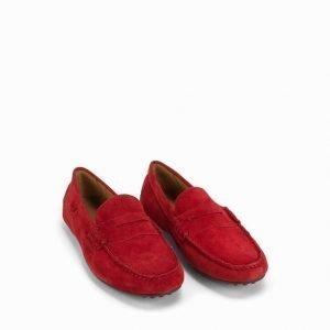 Polo Ralph Lauren Wes-E Slip Loaferit Red