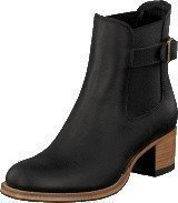 Primeboots Ascot Heel Low Black Brass