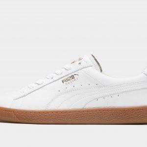 Puma Basket Classic Leather Valkoinen