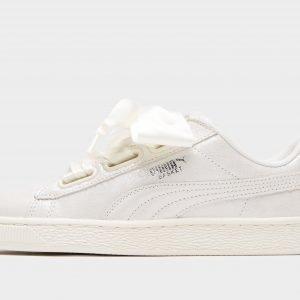 Puma Basket Heart Valkoinen