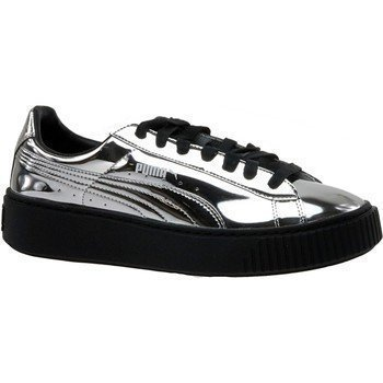 Puma Basket Platform Metallic 362339-06 matalavartiset tennarit