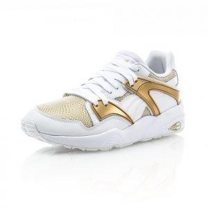 Puma Blaze Gold Matalavartiset Tennarit Valkoinen / Kulta
