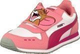 Puma Cabana Racer Tom & Jerry Kids Salmon Rose