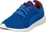 Puma Carson Runner Strong Blue-High Risk Red
