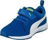 Puma Carson Runner V Kids Strong Blue-White