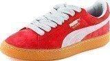 Puma Classic Eco Suede Red/Gray