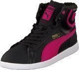 Puma First Round Fur Jr Bubbelgum/Black