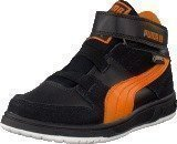 Puma Grifter Mid Kids Gtx Black/Orange