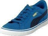 Puma Puma S Canvas Vulc Jr Strong Blue-Peacoat