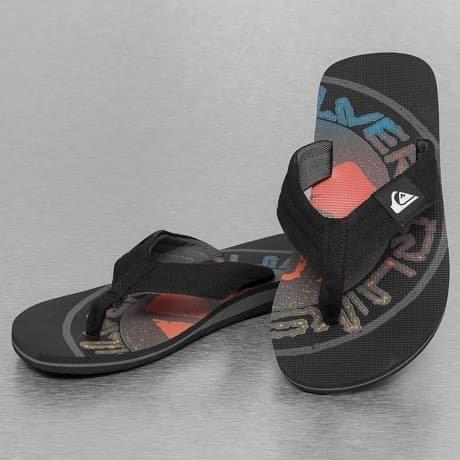 Quiksilver Sandaalit Musta