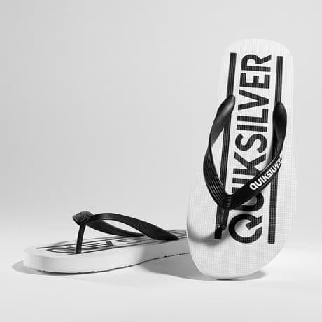 Quiksilver Sandaalit Valkoinen