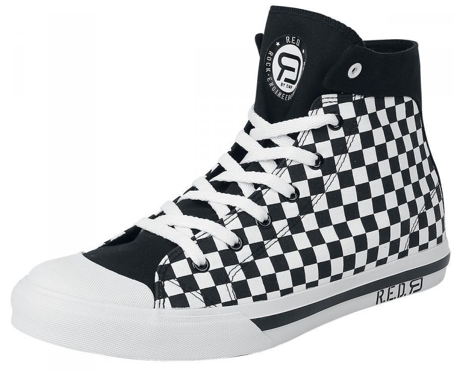 R.E.D. by EMP Checkered Sneaker Varsitennarit