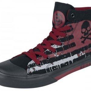 R.E.D. by EMP Skull Flag Sneaker Varsitennarit