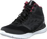 Reebok Cardio Workout Mid Rs Black/Grey/Neon Cherry/White