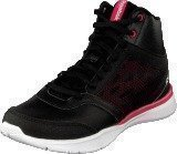 Reebok Cardio Workout Mid Rs Syn Black/Gravel/Blazing Pink