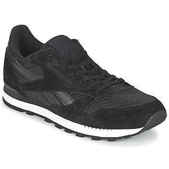 Reebok Classic CL LEATHER CLIP TEC BLACK/WHITE matalavartiset tennarit