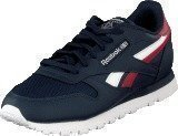 Reebok Classic CL LTHR SC SPLIT Collegiate Navy/Excellent Red
