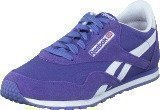 Reebok Classic CL Nylon Slim Pop Purple Vibe/White/Pink/Silver