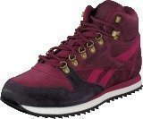 Reebok Classic Cl Lthr Mid Ww Wine/Nght Violet/Pnk