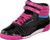 Reebok Classic F/S Hi Black/Charged Pink/Blue/White