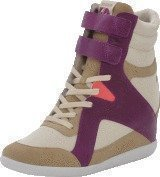 Reebok Classic Mid Cut Wedge Ak Paperwhite/Canvas/Victory Pink