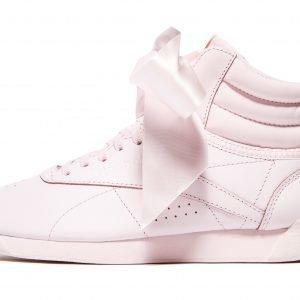 Reebok Freestyle Hi Bow Vaaleanpunainen