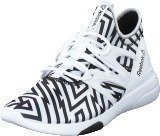 Reebok Hayasu White/Black/Graphic Stripes