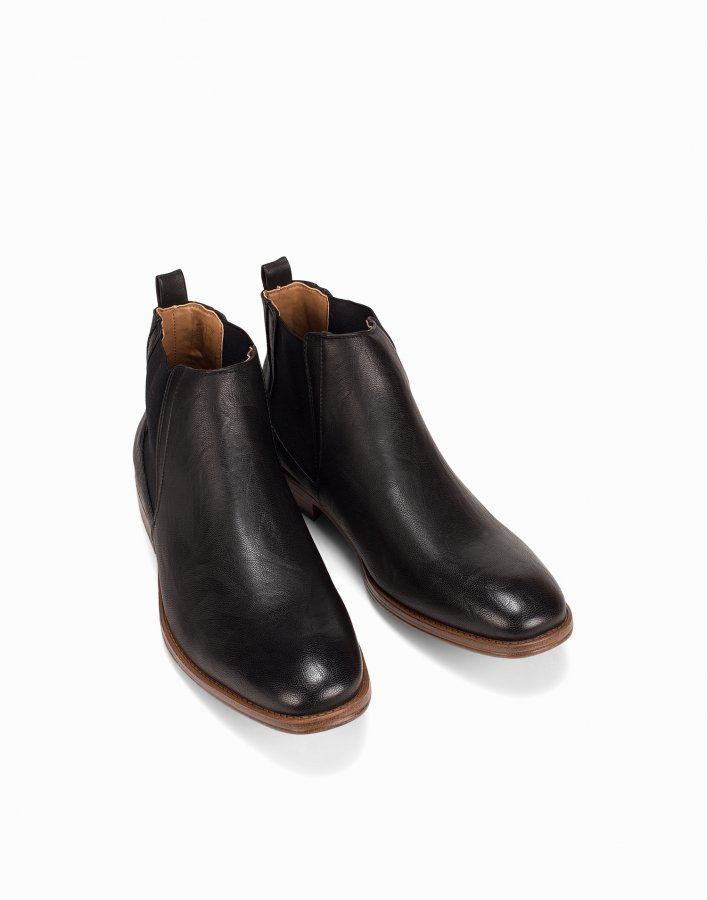 River Island Bargate Tough Sole Chelsea Boot Chelsea-saappaat Musta