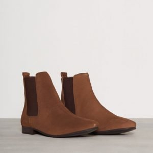 River Island Birch Tall Suede Chelsea Chelsea-saappaat Tan
