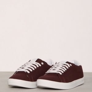 River Island Southgate Tennarit Burgundy