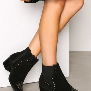 River Island Studded Chelsea Boot Bootsit Black