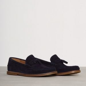 River Island Taker Suede Loaferit Navy
